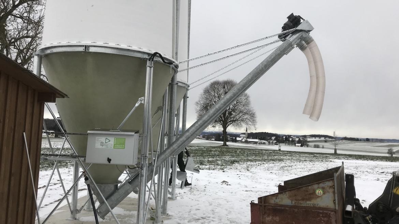 Getreidesilosteuerung mit Funk