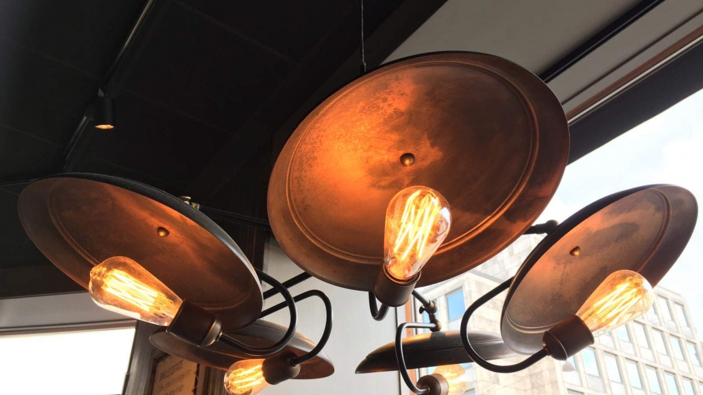 Exklusive Esstischlampe